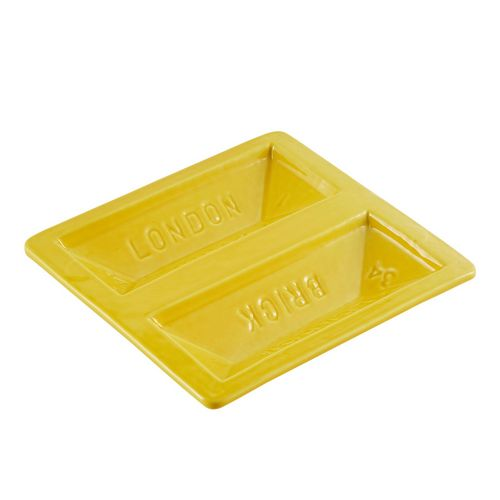 Brick Dish - Yellow